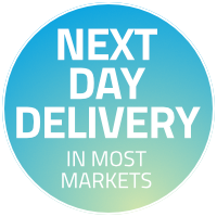Next Day Delivery in most markets